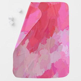 Couverture Pour Bébé Couverture assez rose de bébé de papillons