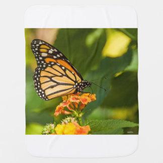 Couverture Pour Bébé Couverture de bebe photo d'un papillon