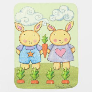 Couverture Pour Bébé Couverture d'ouatine de lapin de bébé