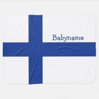 Couverture Pour Bébé Couverture faite sur commande de bébé de drapeau