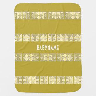Couverture Pour Bébé Couverture faite sur commande de bébé de motif