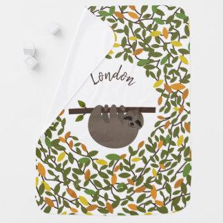 Couverture Pour Bébé Couverture personnalisée par verdure d'automne de