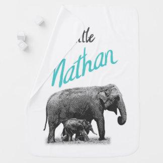 """Couverture Pour Bébé Couverture personnalisée """"petit Nathan """" de bébé"""