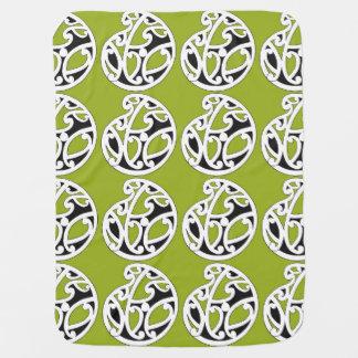 Couverture Pour Bébé Couverture verte FOLLE de bébé de HUE AOTEAROA