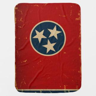 Couverture Pour Bébé CRU de drapeau d'état du Tennessee