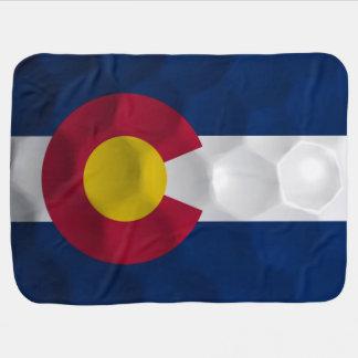 Couverture Pour Bébé Drapeau de boule de golf du Colorado