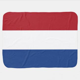 Couverture Pour Bébé Drapeau néerlandais