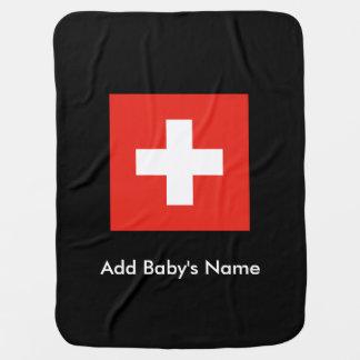 Couverture Pour Bébé Drapeau suisse