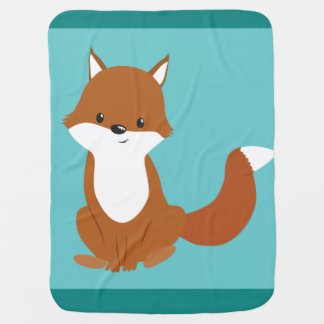Couverture Pour Bébé Fox mignon