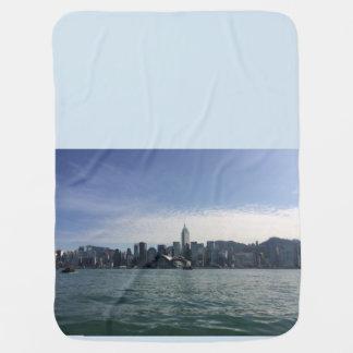Couverture Pour Bébé Hong Kong de port