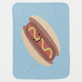 Couverture Pour Bébé Hot-dog mignon de Kawaii