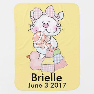 Couverture Pour Bébé Kitty personnalisé de Brielle