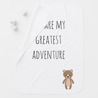 Couverture Pour Bébé La plus grande couverture d'aventure d'ours
