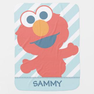 Couverture Pour Bébé Le bébé Elmo   ajoutent votre nom