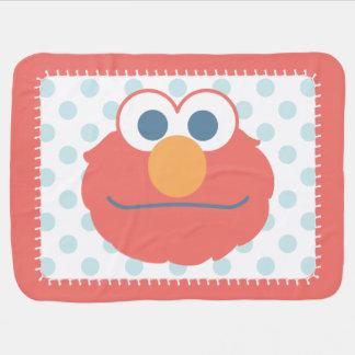 Couverture Pour Bébé Le bébé Elmo font face