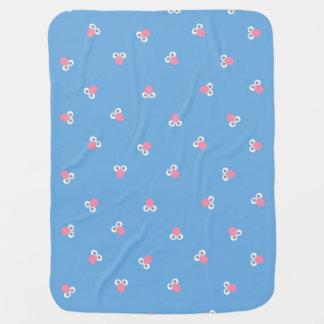 Couverture Pour Bébé Le bébé Grover font face au motif de forme