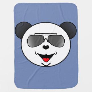 Couverture Pour Bébé Le panda Stoere avec le zonnebril