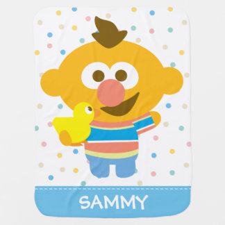 Couverture Pour Bébé Le visage et le Duckie   de bébé d'Ernie ajoutent
