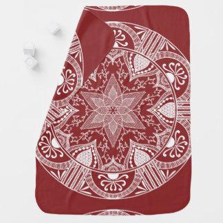 Couverture Pour Bébé Mandala de canneberge