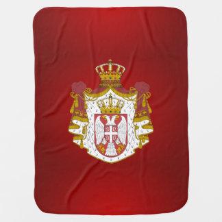 Couverture Pour Bébé Manteau des bras serbe