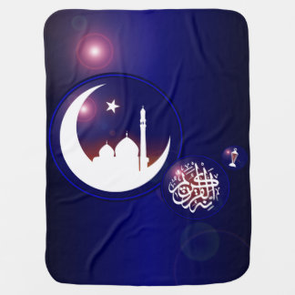 Couverture Pour Bébé Mosquée en croissant de lune