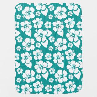 Couverture Pour Bébé Motif de fleur hawaïen de ketmie
