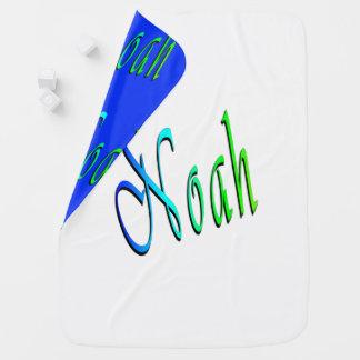 Couverture Pour Bébé Noé, nom, logo, confortablement couverture