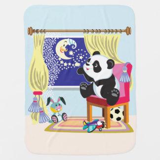 Couverture Pour Bébé panda et lune de bande dessinée