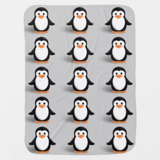 Couverture Pour Bébé Pingouin mignon de bébé