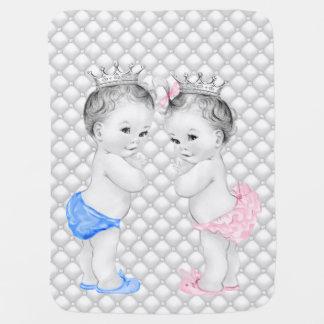 Couverture Pour Bébé Prince et princesse Twin Baby