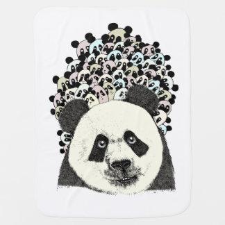 Couverture Pour Bébé Suivez le panda