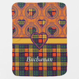 Couverture Pour Bébé Tartan d'écossais de plaid de clan de Buchanan