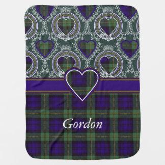 Couverture Pour Bébé Tartan d'écossais de plaid de clan de Gordon