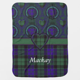 Couverture Pour Bébé Tartan d'écossais de plaid de clan de Mackay