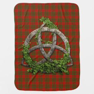 Couverture Pour Bébé Trinité de Celtic de tartan de Livingstone de clan
