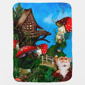 Couverture Pour Bébé Un gnome pour mon art d'imaginaire de jardin