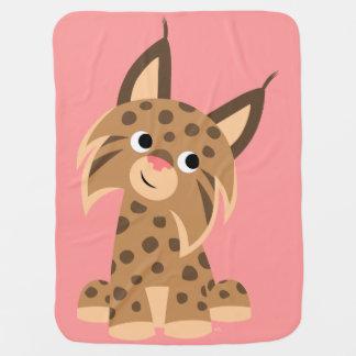 Couverture Prankish de bébé de Lynx de bande dessi Couvertures De Bébé