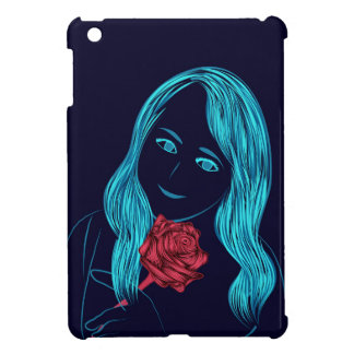 Couverture rose d'iPad de fille Coques iPad Mini
