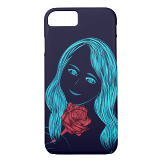 Couverture rose d'iPhone de fille Coque iPhone 7