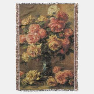 Couverture Roses dans un vase par Pierre Renoir, beaux-arts