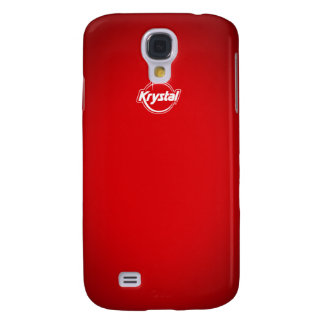 Couverture rouge d'iPhone de Krystal Coque Galaxy S4