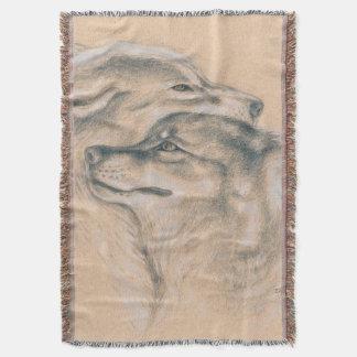 Couverture Se blottir des loups dessinant l'art