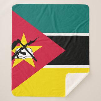 Couverture Sherpa Drapeau de la Mozambique