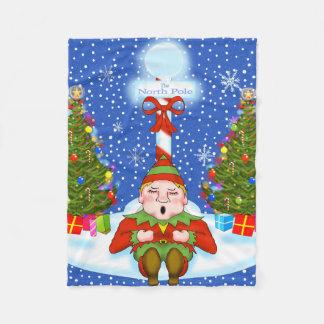 Couverture somnolente d'ouatine d'Elf