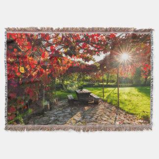 Couverture Sun par le feuille d'automne, Croatie