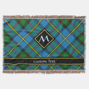 Couverture Tartan de chasse Clan MacLeod