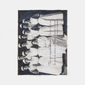 Couverture vintage d'infirmière