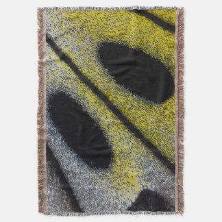 Couvertures Aile repérée et jaune de papillon