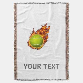 Couvertures Balle de tennis personnalisée sur le cadeau de