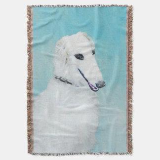 Couvertures Barzoï (blanc)
